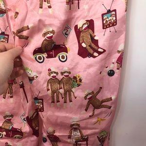 Nick & Nora Intimates & Sleepwear - Nick & Nora Silk Monkey Pajama Pants